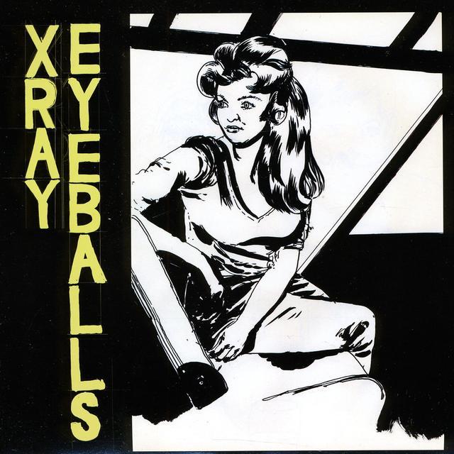 Xray Eyeballs SUNDAE B/W DEJA VU Vinyl Record