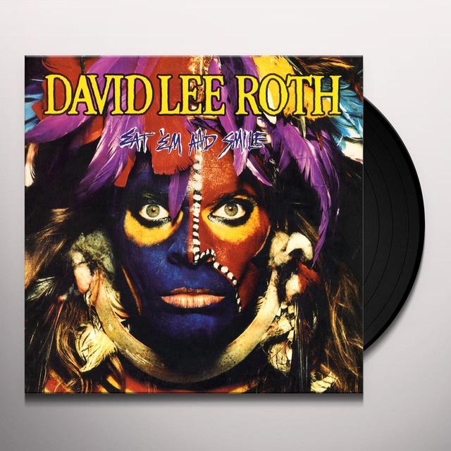David Lee Roth EAT EM & SMILE Vinyl Record - Limited Edition, 180 Gram Pressing