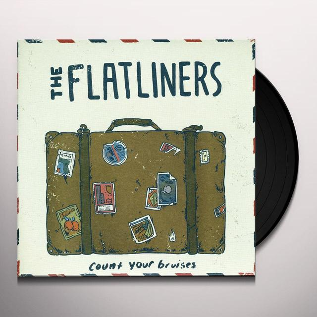 The Flatliners COUNT YOUR BRUISES (EP) Vinyl Record