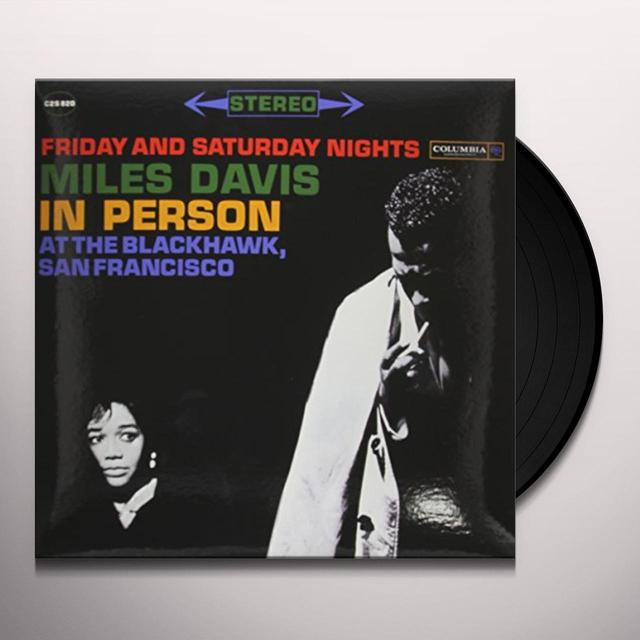 Miles Davis IN PERSON FRIDAY & SATURDAY NIGHTS AT BLACKHAWK Vinyl Record