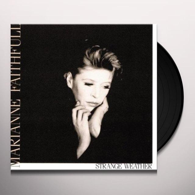 Marianne Faithfull STRANGE WEATHER Vinyl Record - Limited Edition