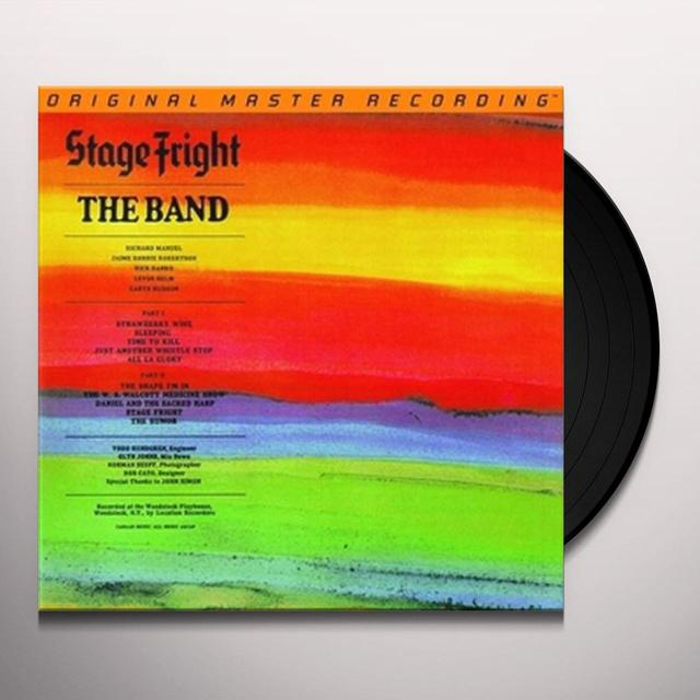 The Band STAGE FRIGHT Vinyl Record - Limited Edition, 180 Gram Pressing