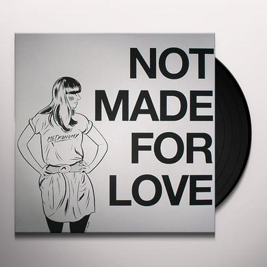 Metronomy NOT MADE FOR LOVE Vinyl Record