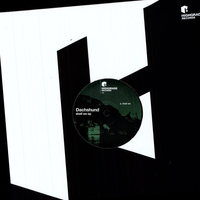Dachshund SHALL WE Vinyl Record