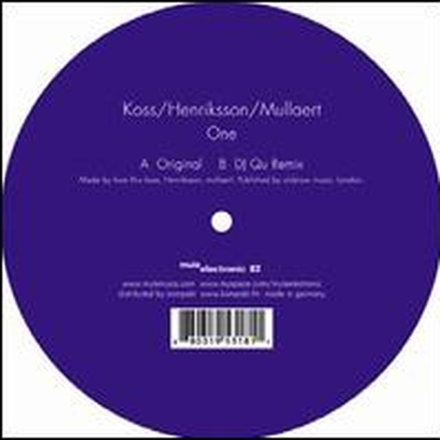 Koss / Henriksson / Mullaert ONE Vinyl Record