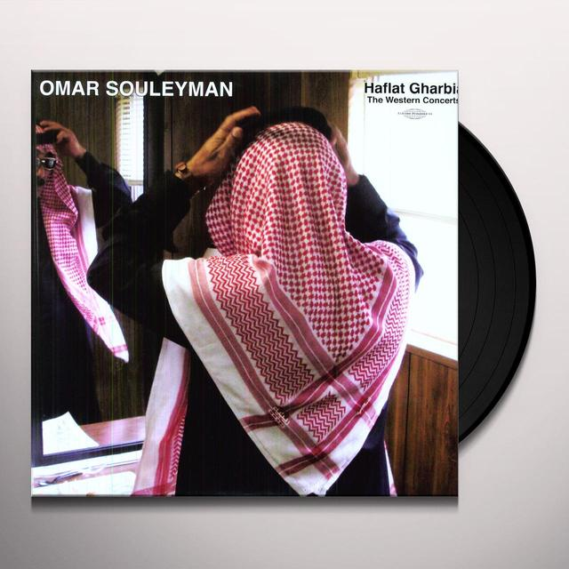 Omar Souleyman HAFLAT GHARBIA: THE WESTERN CONCERTS Vinyl Record