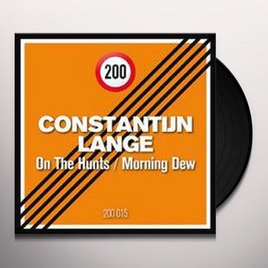 Constantijn Lange ON THE HUNTS / MORNING DEW (EP) Vinyl Record