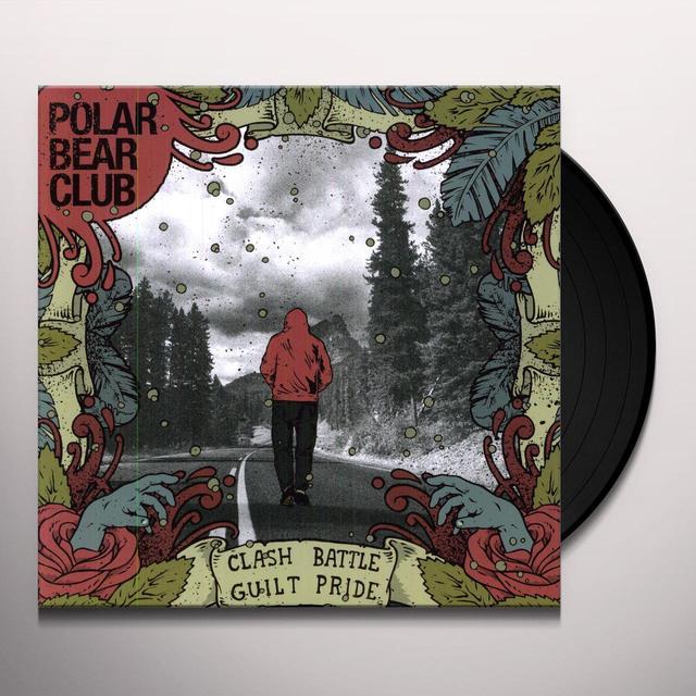 Polar Bear Club CLASH BATTLE GUILT PRIDE Vinyl Record