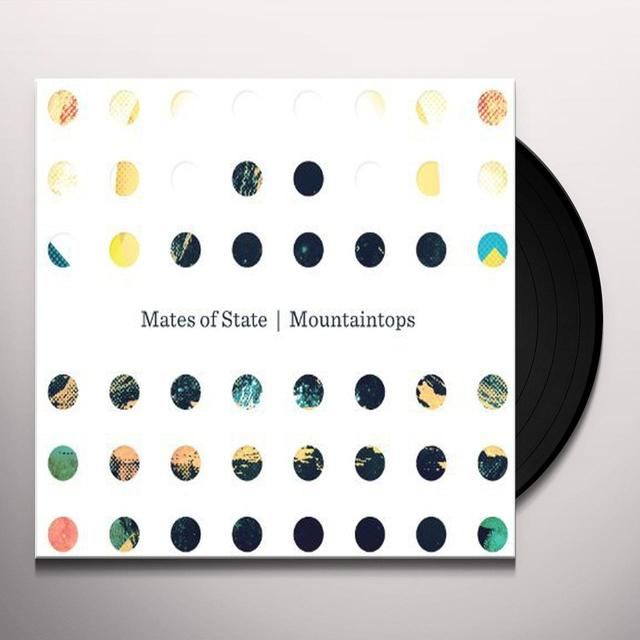 Mates Of State MOUNTAINTOPS Vinyl Record