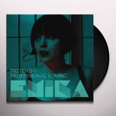 Emika PRETEND / PROFESSIONAL LOVING Vinyl Record