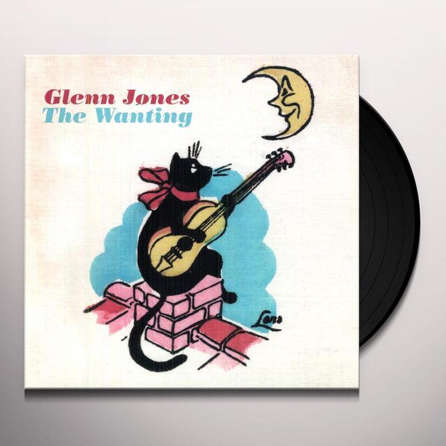 Glenn Jones WANTING Vinyl Record - Digital Download Included