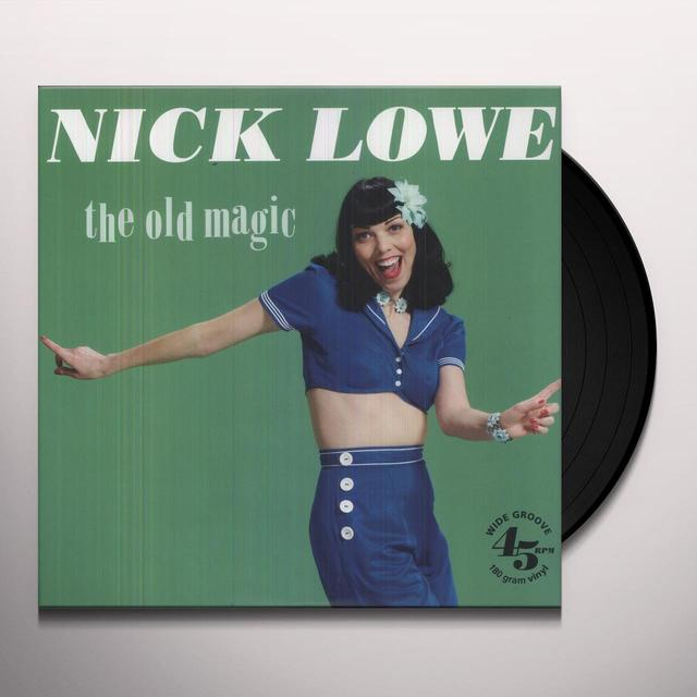 Nick Lowe OLD MAGIC Vinyl Record