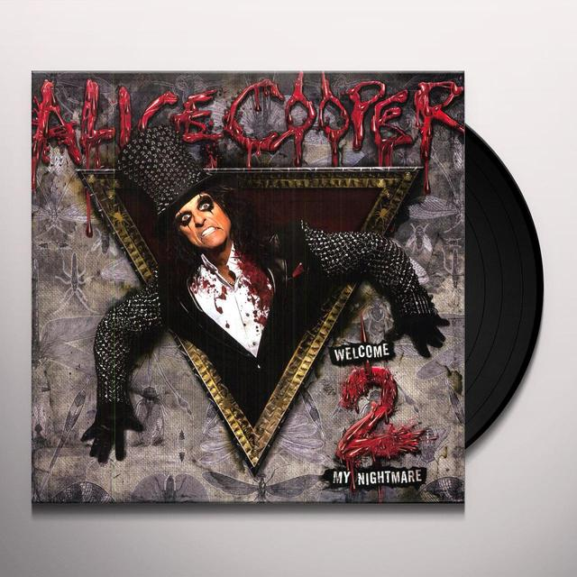 Alice Cooper WELCOME 2 MY NIGHTMARE Vinyl Record
