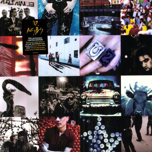 U2 ACHTUNG BABY Vinyl Record - Remastered