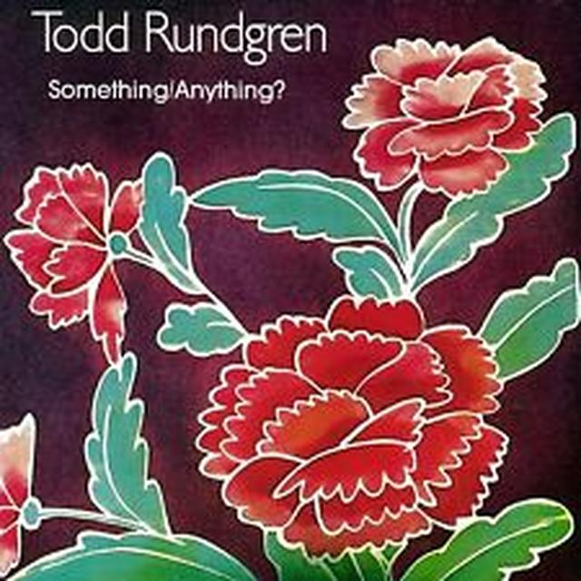 Todd Rundgren SOMETHING / ANYTHING Vinyl Record - 180 Gram Pressing