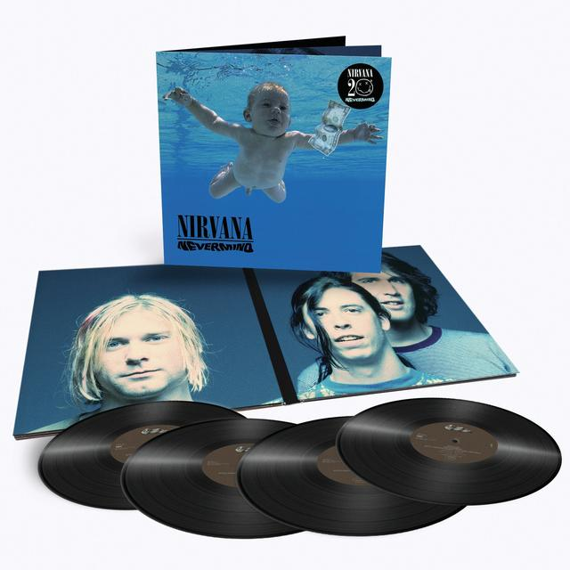 Nirvana NEVERMIND Vinyl Record