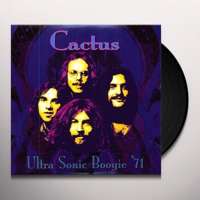 Cactus ULTRA SONIC BOOGIE 1971 Vinyl Record - 180 Gram Pressing