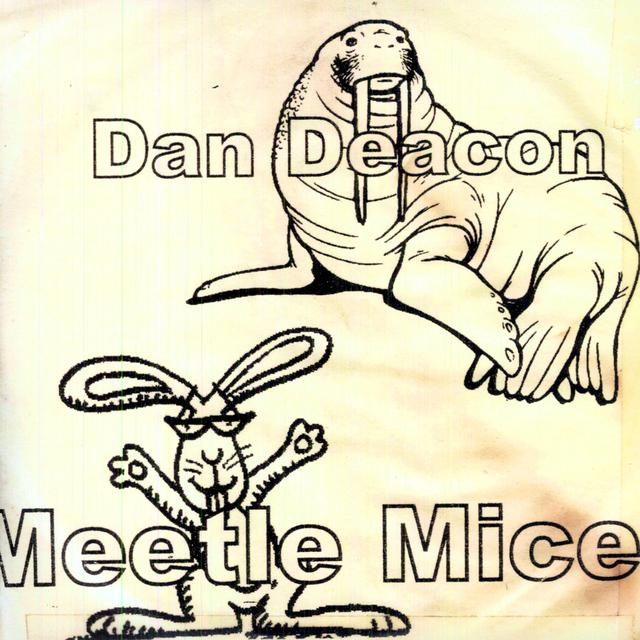 Dan Deacon MEETLE MICE Vinyl Record