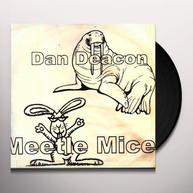 Dan Deacon MEETLE MICE Vinyl Record