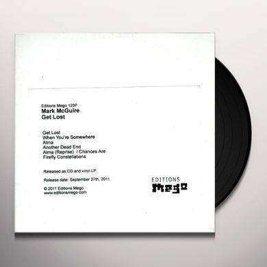 Mark Mcguire GET LOST Vinyl Record