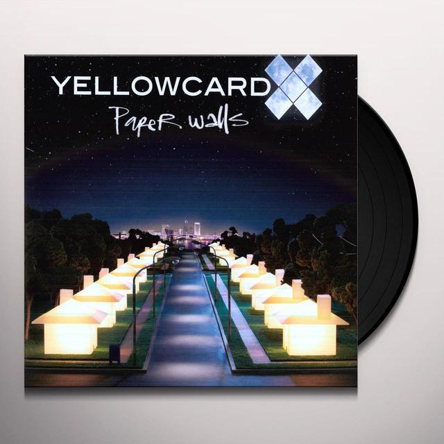 Yellowcard PAPER WALLS Vinyl Record