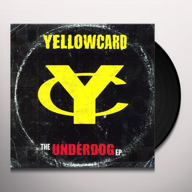 Yellowcard UNDERDOG Vinyl Record