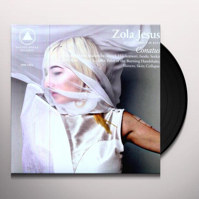 Zola Jesus CONATUS Vinyl Record