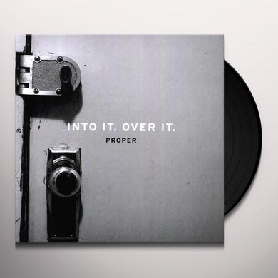 Into It Over It PROPER Vinyl Record