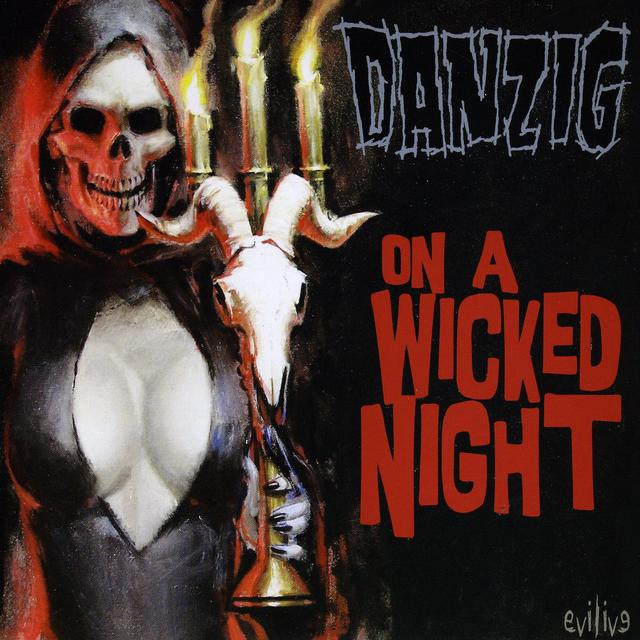 Danzig ON A WICKED NIGHT Vinyl Record