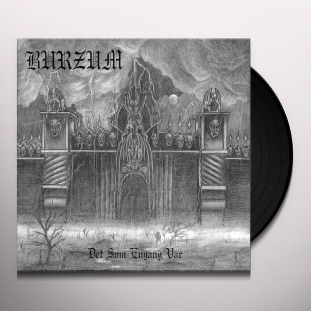 Burzum DET SOM ENGANG VAR Vinyl Record - UK Import
