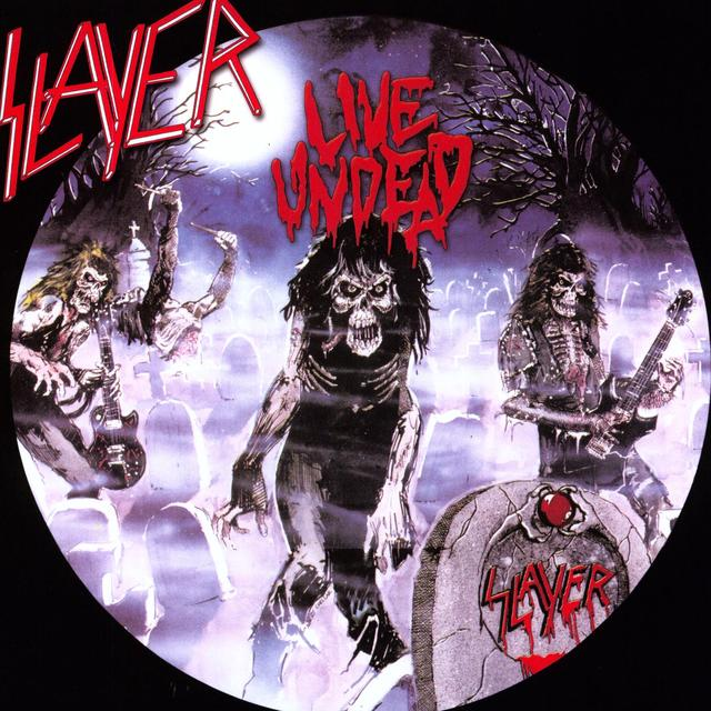 Slayer LIVE UNDEAD / HAUNTING THE CHAPEL Vinyl Record - 180 Gram Pressing