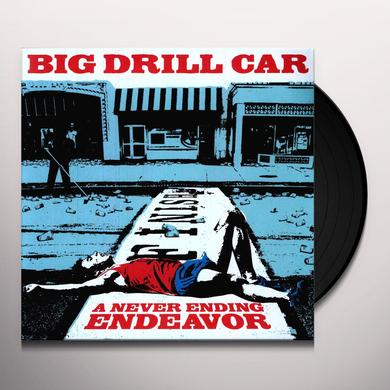 Big Drill Car NEVER ENDING ENDEAVOUR Vinyl Record - UK Release