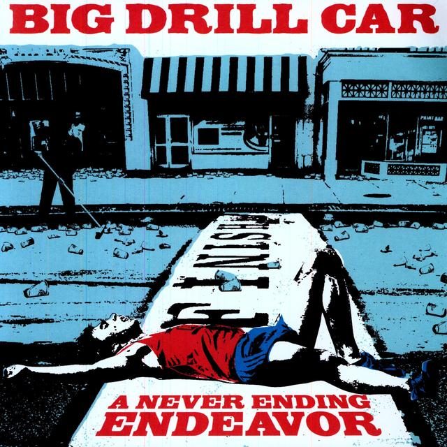 Big Drill Car NEVER ENDING ENDEAVOUR Vinyl Record - UK Import