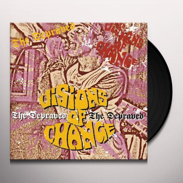 VISIONS OF CHANGE / DEPRAVED Vinyl Record - UK Import