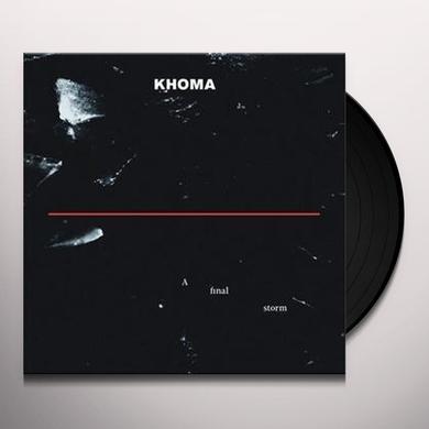 Khoma FINAL STORM Vinyl Record