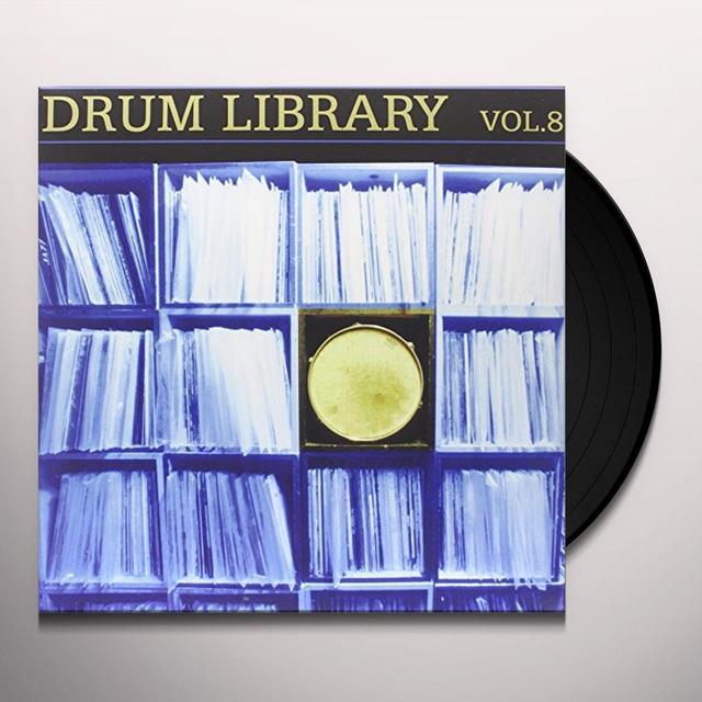 Paul Nice DRUM LIBRARY 8 Vinyl Record