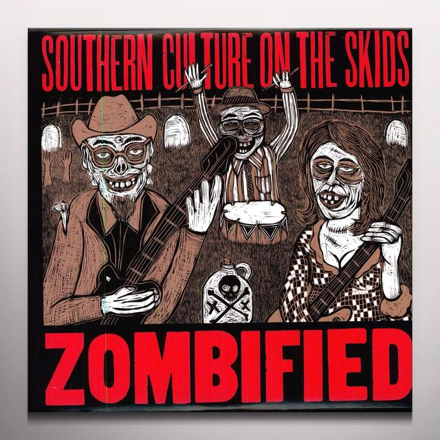 Southern Culture On The Skids ZOMBIFIED Vinyl Record - Colored Vinyl, Reissue