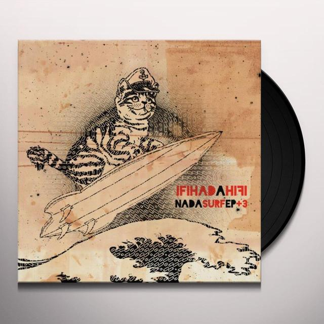Ifihadahifi NADA SURF + 3 (BONUS TRACKS) (EP) Vinyl Record