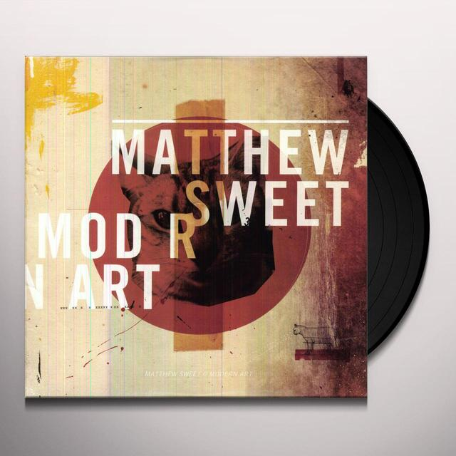 Matthew Sweet MODERN ART Vinyl Record