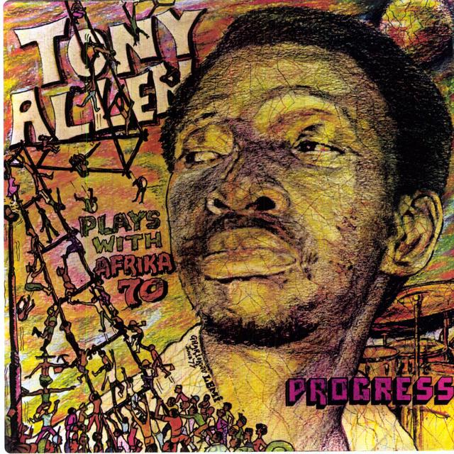 Tony Allen PROGRESS Vinyl Record