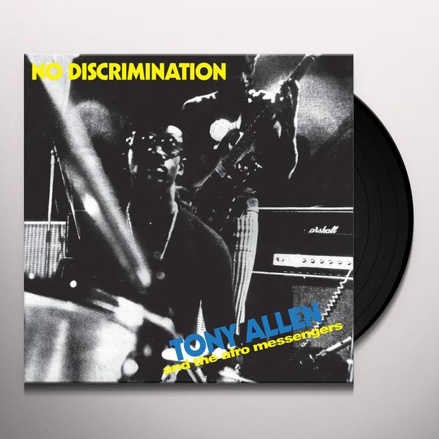 Tony Allen NO DISCRIMINATION Vinyl Record - Remastered, Reissue
