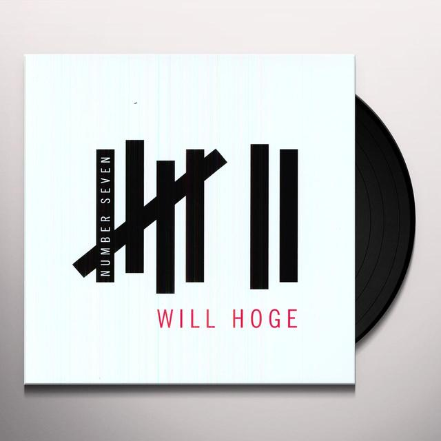 Will Hoge NUMBER SEVEN Vinyl Record