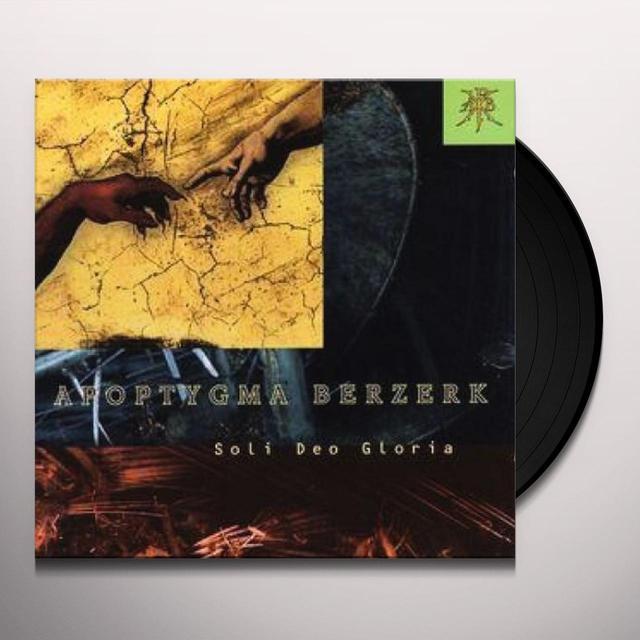 Apoptygma Berzerk SOLI DEO GLORIA Vinyl Record