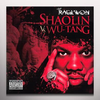 Raekwon SHAOLIN VS WU-TANG Vinyl Record - Colored Vinyl