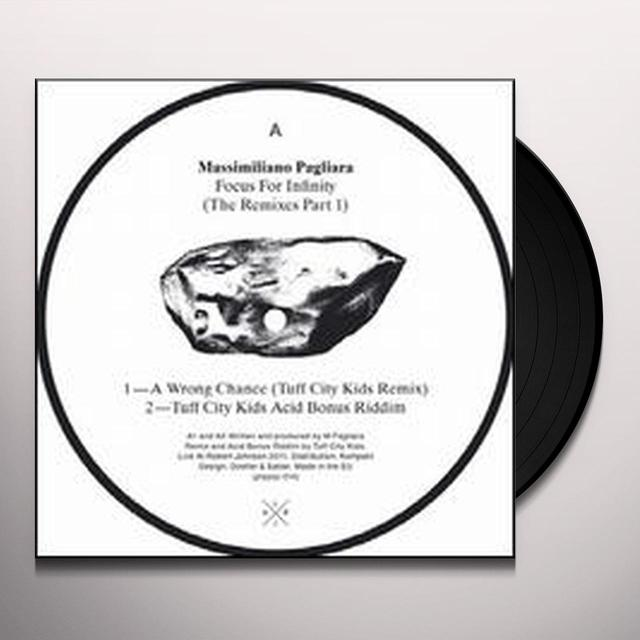 Massimiliano Pagliara FOCUS FOR INFINITY (EP) Vinyl Record