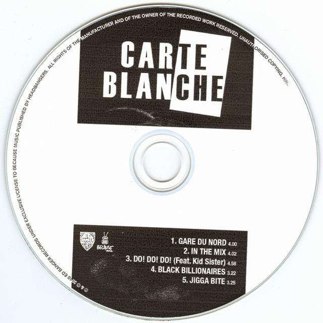 Carte Blanche BLACK BILLIONAIRES Vinyl Record