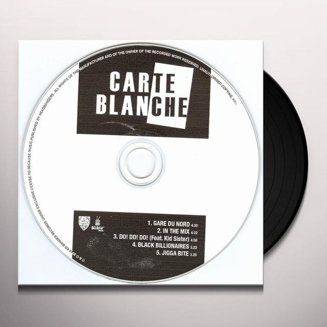 Carte Blanche BLACK BILLIONAIRES (EP) Vinyl Record