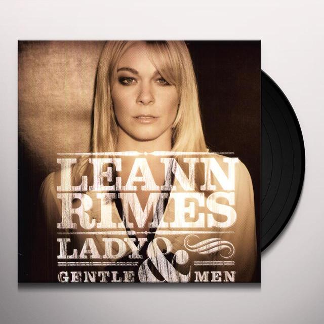 LeAnn Rimes LADY & GENTLEMEN Vinyl Record