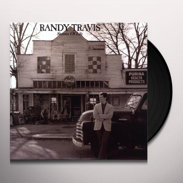 Randy Travis STORMS OF LIFE Vinyl Record - 200 Gram Edition