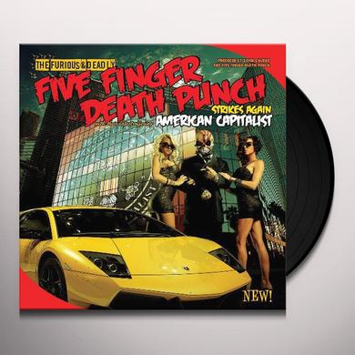 Five Finger Death Punch AMERICAN CAPITALIST Vinyl Record - Limited Edition